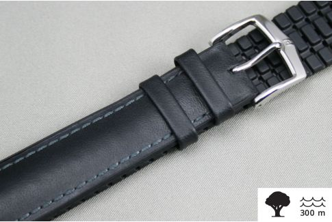 Black James HIRSCH watch bracelet (waterproof)