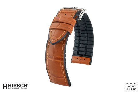 Honey Brown Paul HIRSCH watch bracelet (waterproof)