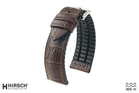 Brown Paul HIRSCH watch bracelet (waterproof)