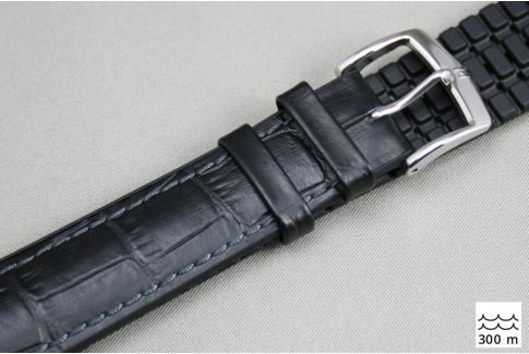 Black Paul HIRSCH watch bracelet (waterproof)