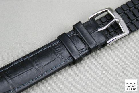 Bracelet montre HIRSCH Paul Noir (étanche)
