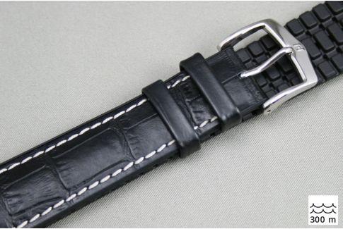 Bracelet montre HIRSCH George Noir (étanche)
