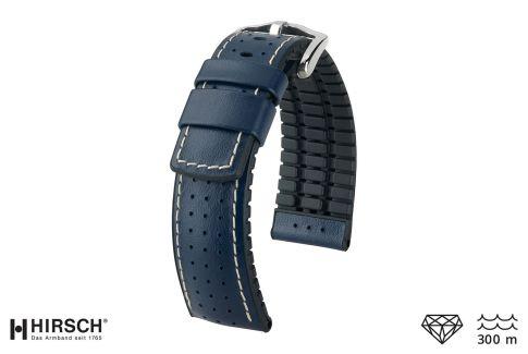 Bracelet montre HIRSCH Tiger Bleu (étanche)