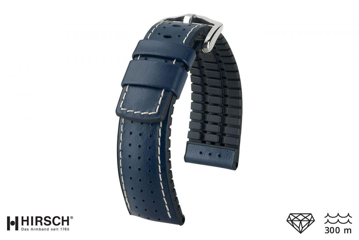 Brand HIRSCH nylon watchband active sport 16 mm