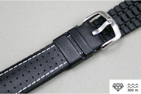 Bracelet montre HIRSCH Tiger Noir (étanche)
