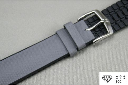 Grey Black Arne HIRSCH watch bracelet (waterproof)