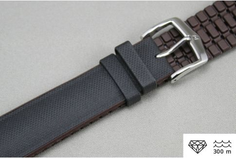 Black Brown Arne HIRSCH watch bracelet (waterproof)