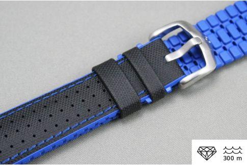 Bracelet montre HIRSCH Robby Noir Bleu (étanche)