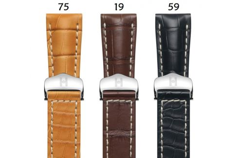 Louisiana Alligator Navigator HIRSCH deployment watch bands, classics