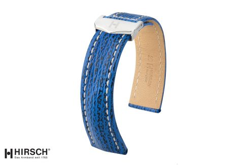 """Bracelets montre boucle déployante HIRSCH Navigator en cuir de Requin, les """"sélection"""""""