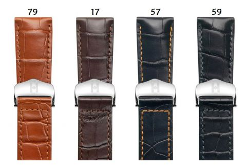 Louisiana Alligator Voyager HIRSCH deployment watch bands, classics