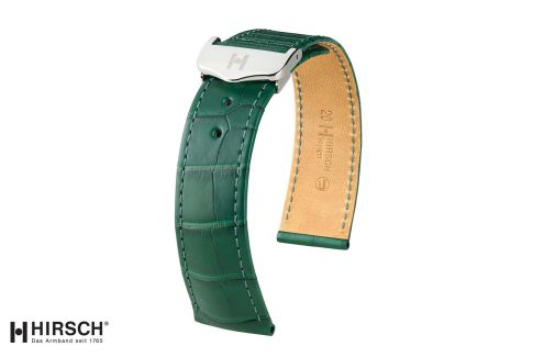"""Bracelets montre boucle déployante HIRSCH Voyager en Alligator de Louisiane, les """"sélection"""""""