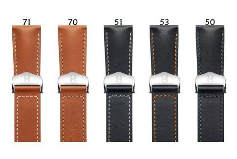 Bracelets montre boucle déployante HIRSCH Voyager en cuir de Veau Italien, les classiques