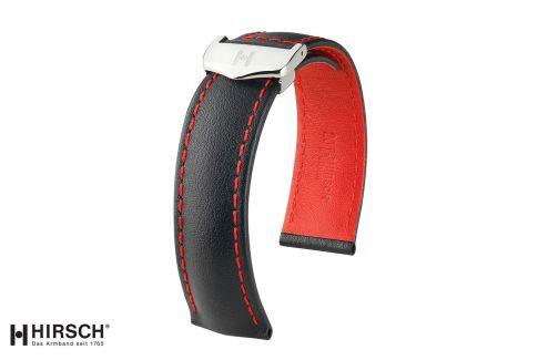 Bracelets montre boucle déployante HIRSCH Speed en cuir de Veau Italien, les classiques