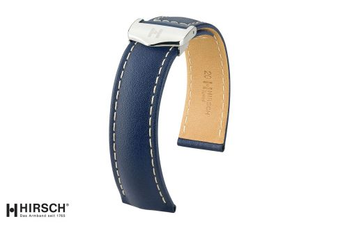 Italian Calfskin leather  Speed HIRSCH deployment watch bands, selection