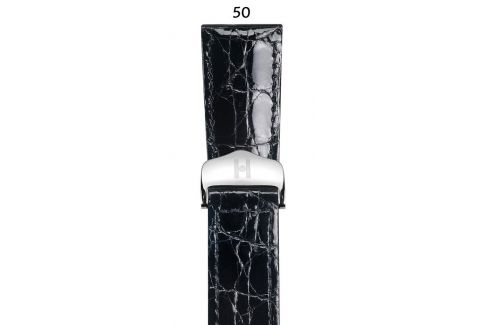 South America Crocodile flank Savoir HIRSCH deployment watch band