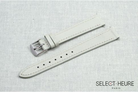 Ivory SELECT-HEURE women leather watch strap, quick release spring bars