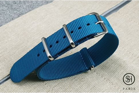- Sydney - SELECT-HEURE nylon NATO watch strap, stainless steel unremovable buckle