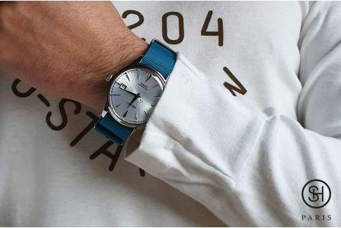Bracelet montre NATO nylon SELECT-HEURE - Sydney -, boucle indémontable en acier inox