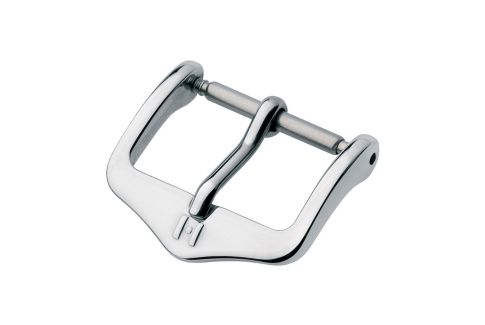 H-Tradition HIRSCH watch strap buckle, stainless steel