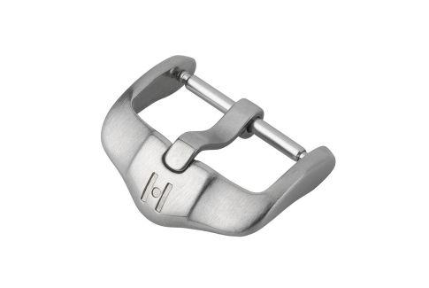 Boucle ardillon HIRSCH H-Active acier inox brossé pour bracelet montre