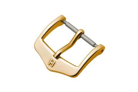 Boucle ardillon HIRSCH HCB acier inox or jaune pour bracelet montre