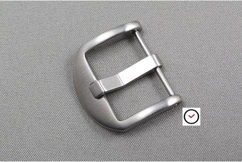 Boucle ardillon Thumbnail Classique acier inox brossé (vissée) pour bracelet montre