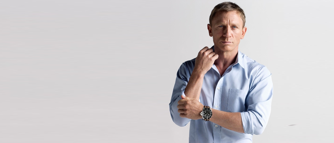 James bond et la bracelet nato