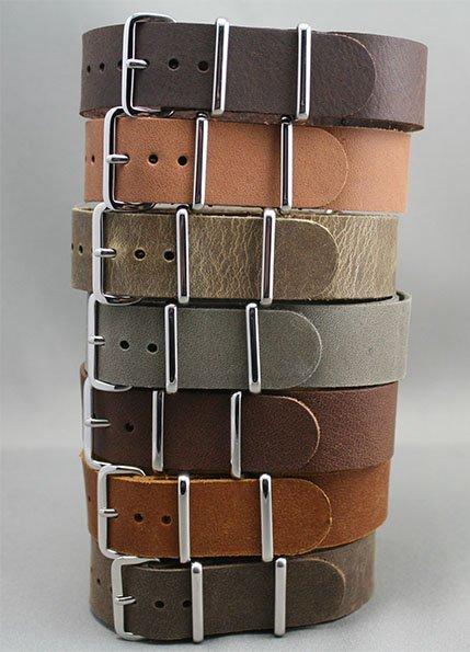 NATO-cuir-vintage-bracelet-montre-esprit-nato